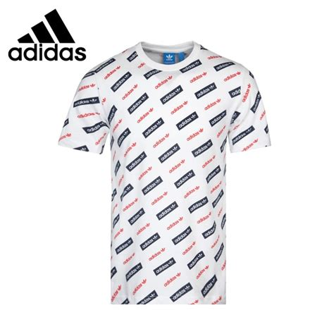 Original Merchandise T Shirt Kaos Being As 1 original new arrival 2017 adidas originals mad trefoil s t shirts sleeve