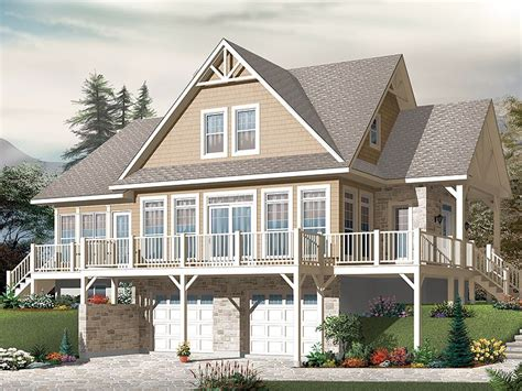house plans waterfront waterfront house plans two story waterfront home plan