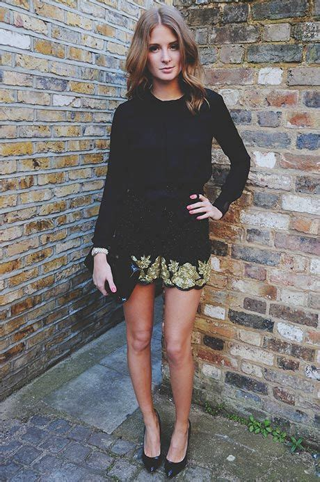 Get And Beyonces Look With This Embellished Hem Top by Millie Mackintosh Simple Chic In A Black Top Worn