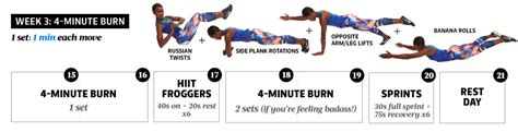 oblique ab workout 4 minute ab workout fitness magazine