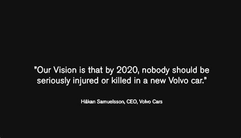 volvo mission statement f b makes volvo the car that cares about the stable