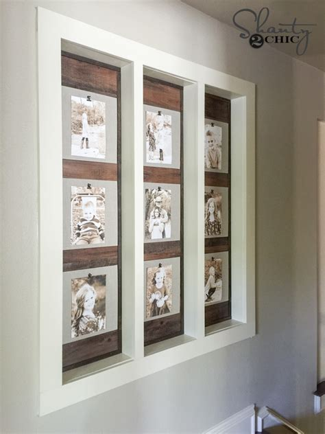 photo gallery wall diy photo gallery wall shanty 2 chic