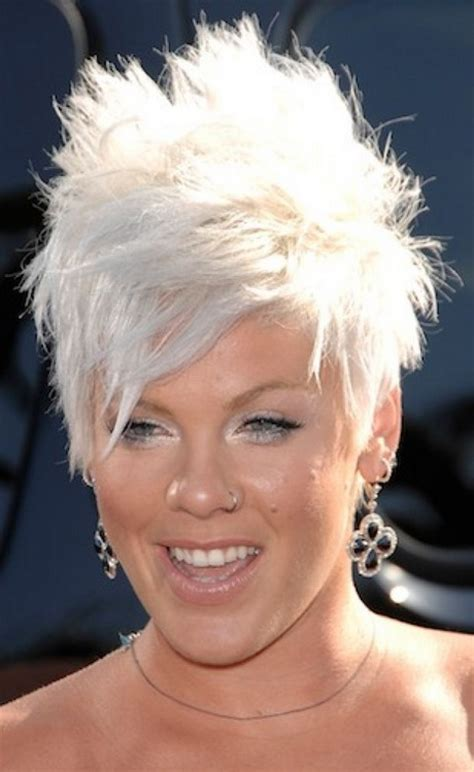 short spiky haircuts for round face women womens short spiky short hairstyles for women