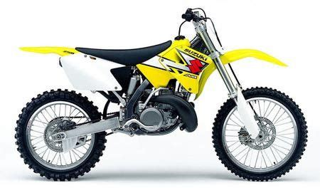 2003 2004 suzuki rm250 2 stroke motorcycle repair manual
