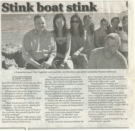 stink boat home save freo beaches