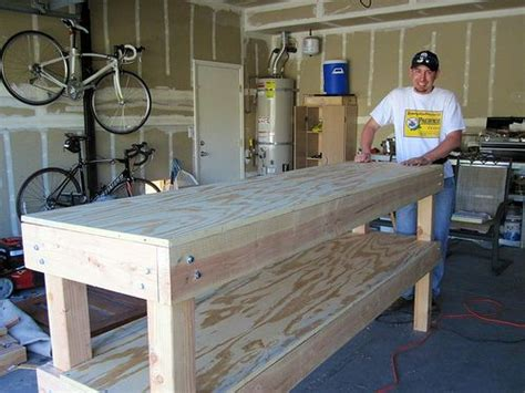 building a workout bench building a woodshop workbench woodworking projects plans
