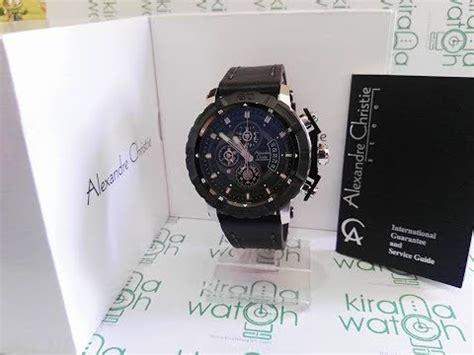 alexandre christie ac6439 mc silver black original garansi resmi 1thn