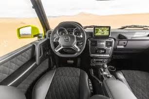 G Interior by 17 Reasons The G500 4x4 Squared Is The Most Badass