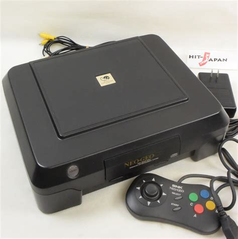 neogeo console neo geo cd front loading console system neogeo snk japan