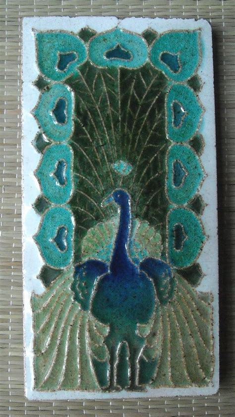103 best images about peacock tiles on pinterest ceramics peacocks and animal sculptures