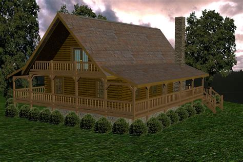 mountain view battle creek log homes