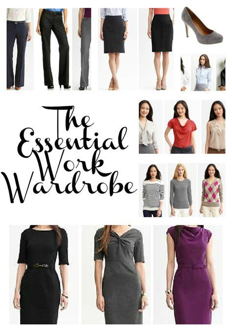 wardrobes work wardrobe essentials