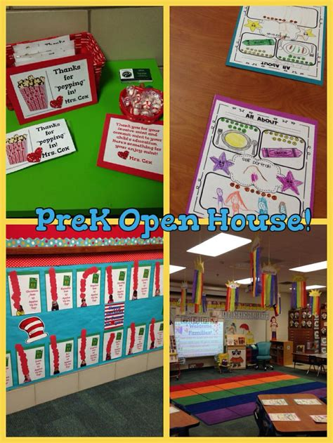 Pre K Open House Ideas Pre K Open House Ideas Enaction Info