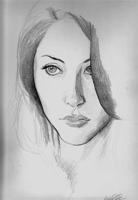 Portraits And Sketches by Simple Pencil Drawings Of Nature Picture Simple Pencil