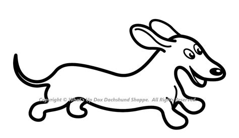dachshund coloring page coloring pages pictures imagixs
