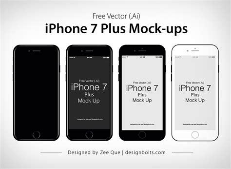 50 iphone 7 7 plus jet black mockup templates designazure