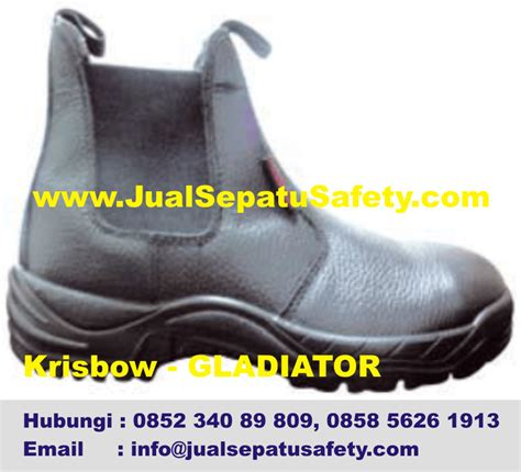 Sepatu Boots Krisbow safety shoes wanita holidays oo