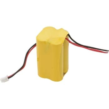 nicad replacement battery pack for led exit emergency signs 4 8v 500 mah hd supply