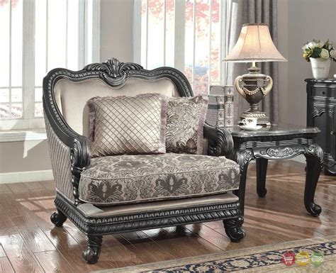 Florence Traditional Formal Living Room Furniture Arm Formal Living Room Chairs