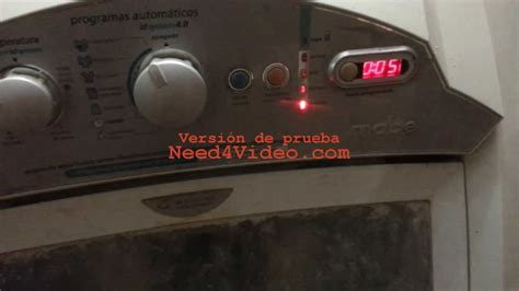 reparacion de tarjeta lavadora digital mabe fallas falla lavadora mabe youtube