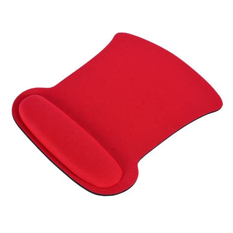 Mouse Mat With Wrist Support by Home Office Computer Arm Rest Ergonomic Anti Slip Sponge