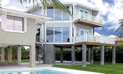 Two Story Florida House Plans by Florida Two Story House Plans Stilt Beautiful Two Story