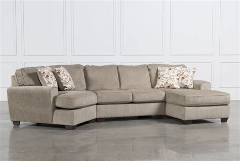 Sectional Sofa With Cuddler Patola Park 3 Cuddler Sectional W Raf Corner Chaise Living Spaces