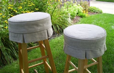 round bar stool slipcovers round bar stool slipcover home design ideas