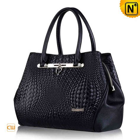 Woven Handbag genuine woven leather handbag cw255147