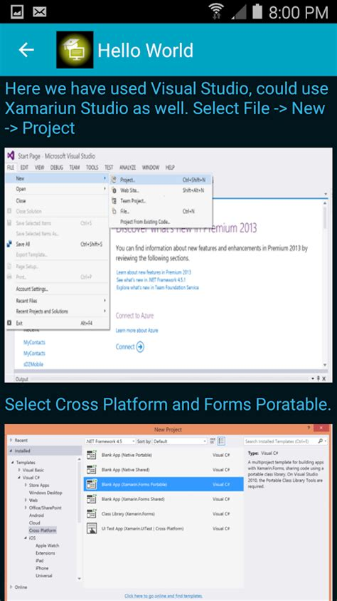 xamarin forms tutorial for beginners learn xamarin forms android apps on google play