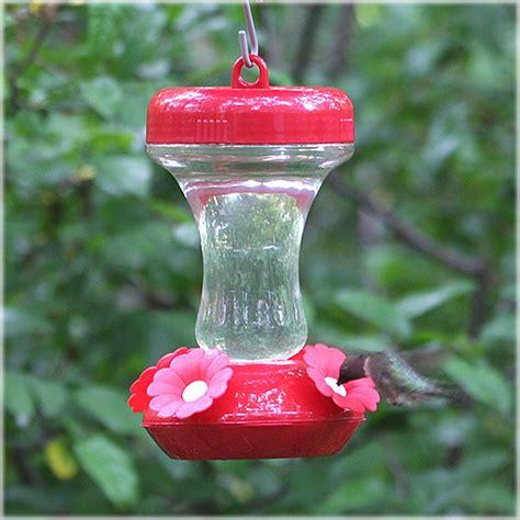 perky pet top fill glass hummingbird feeder 8 oz 130tf