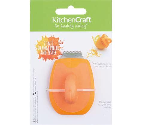 Kitchen Craft Peeler Colorworks Oranye 1 buy kitchen craft orange peeler orange free delivery currys
