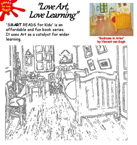 van gogh the bedroom coloring page free kid s children s coloring colouring in of famous