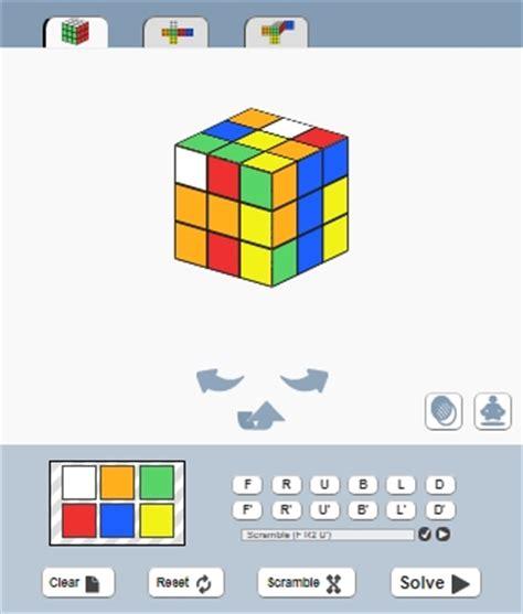 online rubik's cube solver html css javascript