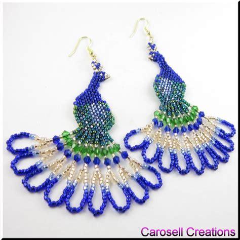 beaded bird pattern to diy for on beaded earrings victory rolls