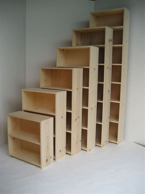 5 inch deep bookcase stumasa 9 25 quot deep pine fixed shelf bookcase