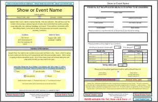 Vendor Application Template Free by Dfwcraftshows Vendor Applications Part Iii The Template