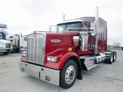 kenworth tractor trailer kenworth w900l truck usa standard 2005 standard tractor