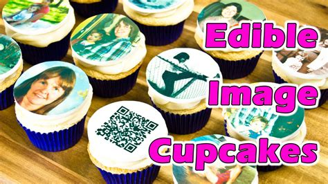 how to make edible cake decorations at home edible image cupcake toppers for my mom s birthday by