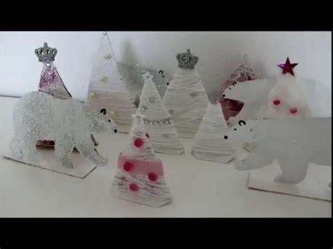 basteln mit kindergartenkindern advent diy weihnachten advent tannenwald zauberwald