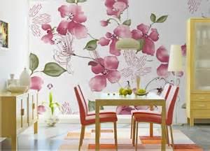 Living Room Flower Wallpaper Flower Wallpaper Living Room 2 Background Wallpaper