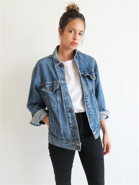 Jaket Jean by 25 Best Ideas About Oversized Denim Jacket On