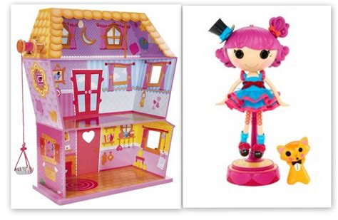 lalaloopsy doll house lalaloopsy sew magical house plus a free silly hair star doll harmony b sharp 149 shipped