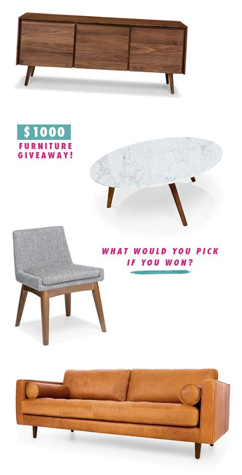 Sofa Giveaway - d e s i g n l o v e f e s t 187 article furniture giveaway