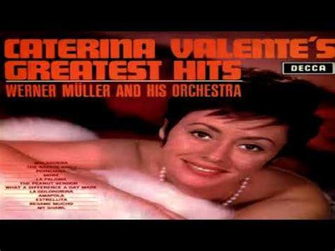 caterina valente greatest hits catarina valente greatest hits 1965 gmb youtube