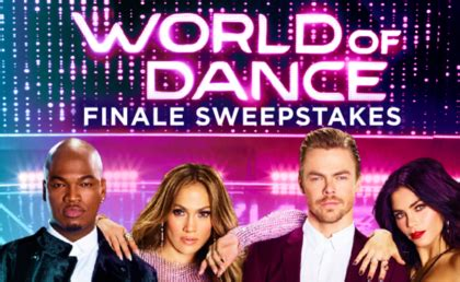 Nbc Sports Sweepstakes - nbc world of dance finale sweepstakes sun sweeps