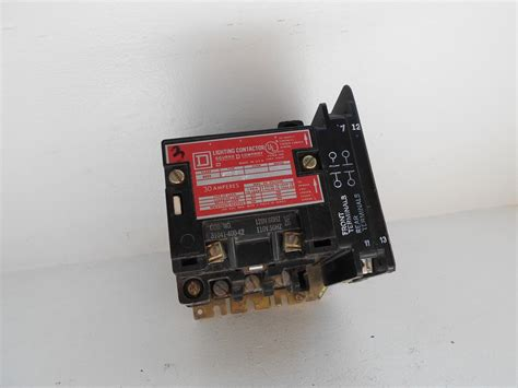 5 pole lighting contactor square d 8903smo4v02 5 pole 30a electrically held lighting