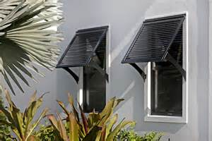 Outdoor Awnings And Shades Bahama Shutters By Marc Julien Homes