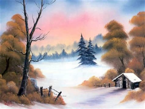bob ross last painting visitor for travel beautiful nature and landscape
