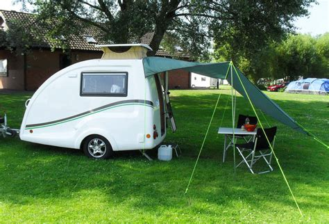 Small Cervan Awnings by Go Pods Co Uk Micro Tourer Caravans Small 2 Berth